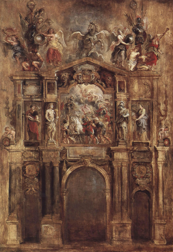 Peter Paul Rubens - The Arch of Ferdinand