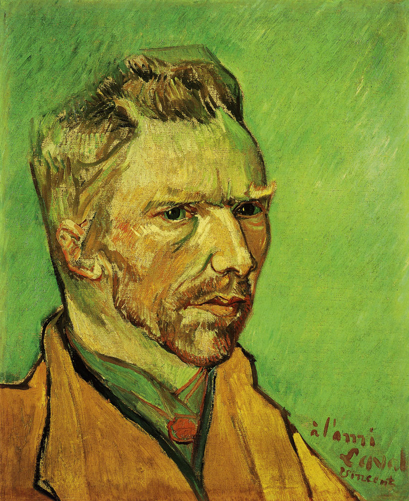 Vincent van Gogh - Self-Portrait Dedicated to Charles Laval