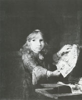 Aert de Gelder Boy with an Engraving