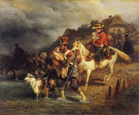 Hippolyte Bellangé Crossing the Ford