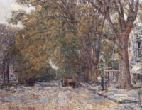 Childe Hassam Main Street, East Hampton
