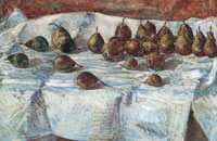 Childe Hassam Winter sickle pears