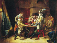 Ernest Meissonier The Lost Game