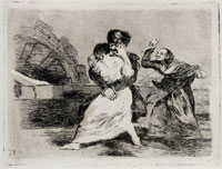 Francisco Goya They Do Not Want To (Working proof)