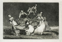 Francisco Goya - Feminine Folly (Posthumous trial proof)