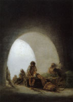 Francisco Goya Interior of a Prison