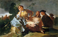 Francisco Goya The Rendezvous
