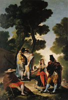 Francisco Goya A Walk in Andalusia