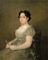 Francisco Goya Young Woman with a Fan