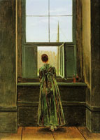 Caspar David Friedrich Woman at the Window