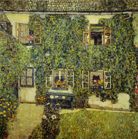Gustav Klimt Forester House in Weissenbach on the Attersee