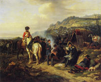 Hippolyte Bellangé The Despatch (Bivouac)