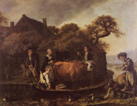 Jan Victors Fairy with cows