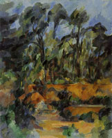 Paul Cézanne Forest
