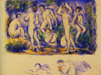 Paul Cézanne Group of Bathers