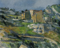Paul Cézanne Houses in Provence: The Riaux Valley near L'Estaque