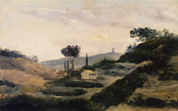 Paul Cézanne Landscape with La Tour de César