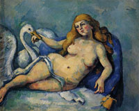 Paul Cézanne Leda and the Swan