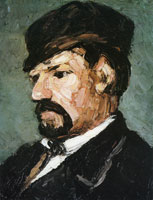 Paul Cézanne Portrait of uncle Dominique