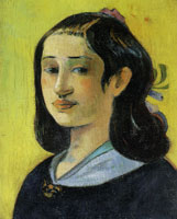 Paul Gauguin The Artist's Mother