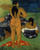 Paul Gauguin Tahitian Women Bathing