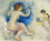Pierre-Auguste Renoir Study for