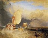 J.M.W. Turner Fishing Boats with Hucksters Bargaining for Fish