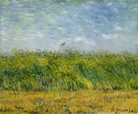Vincent van Gogh Wheat Field with a Lark