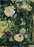 Vincent van Gogh Wild Roses and Beetle
