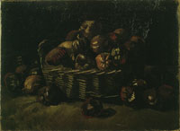Vincent van Gogh Basket of apples