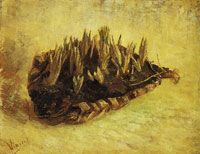 Vincent van Gogh A basket with sprouting bulbs