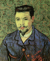 Vincent van Gogh Portrait of Doctor Félix Rey