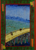 Vincent van Gogh Japonaiserie: Bridge in the Rain