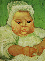 Vincent van Gogh The Baby Marcelle Roulin