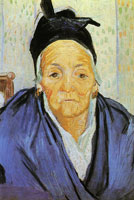 Vincent van Gogh An Old Woman from Arles