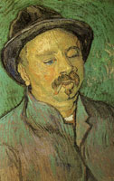 Vincent van Gogh Portret of a One-Eyed Man