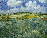 Vincent van Gogh Plain near Auvers