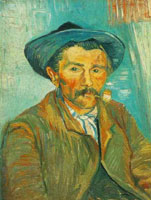 Vincent van Gogh The Smoker