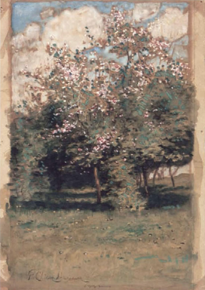 Childe Hassam - Blossoming Trees