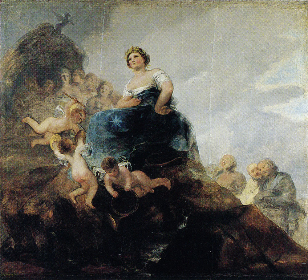 Francisco Goya - Allegory of Poetry