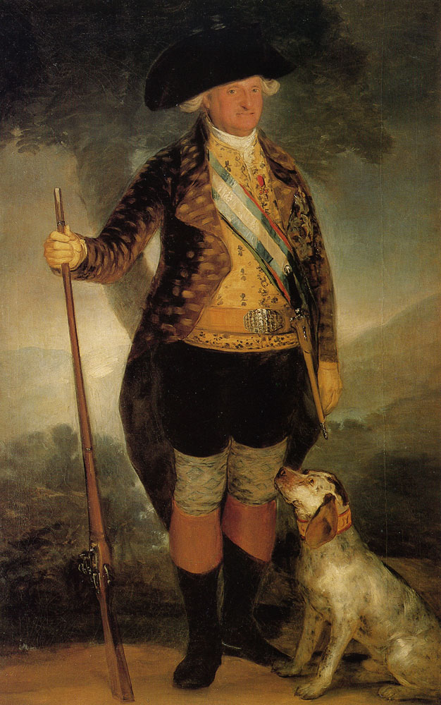 Francisco Goya - Carlos IV in Hunting Costume