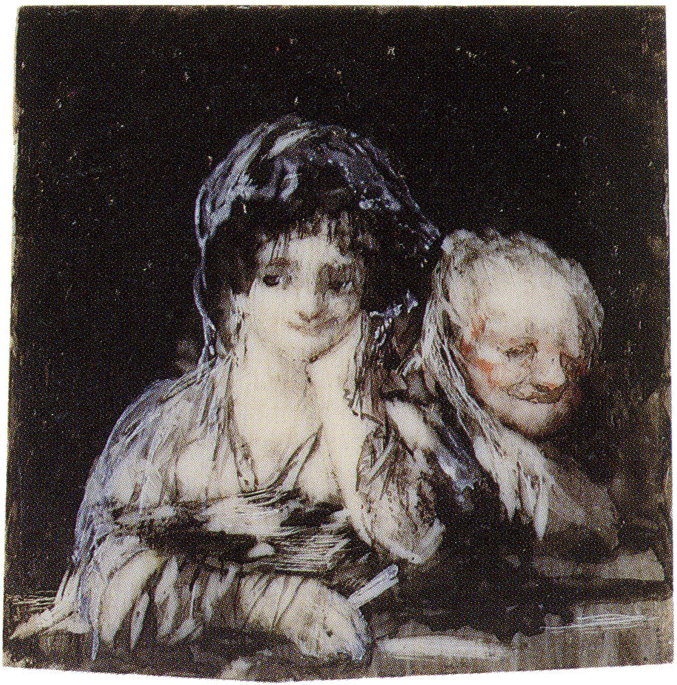 Francisco Goya - Maja and a Celestina
