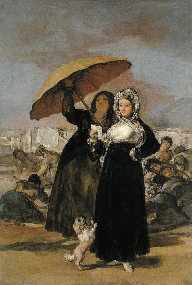Francisco Goya - The Young Women (The Letter)