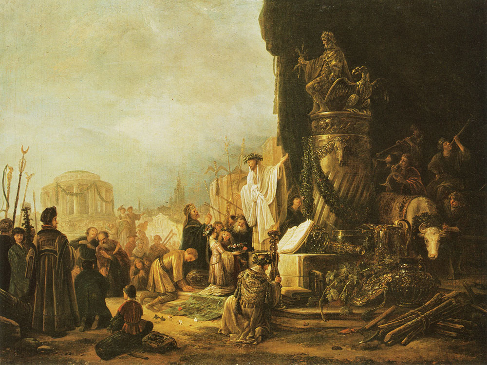 Jacob de Wet - Paul and Barnabas at Lystra