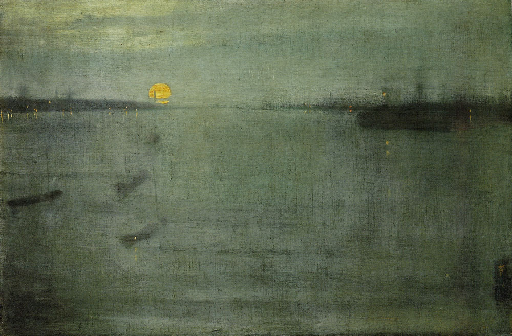 James Abbott McNeill Whistler - Nocturne: Blue and Gold - Southampton Water