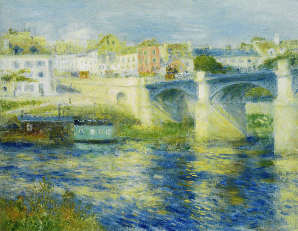 Pierre-Auguste Renoir - Bridge at Chatou