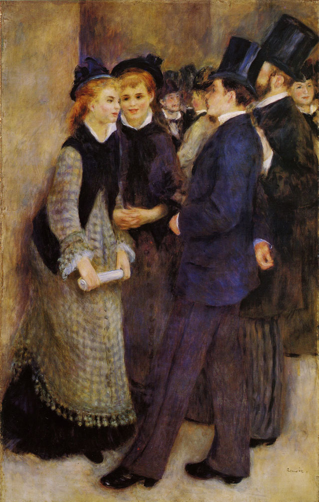 Pierre-August Renoir - Leaving the Conservatoire