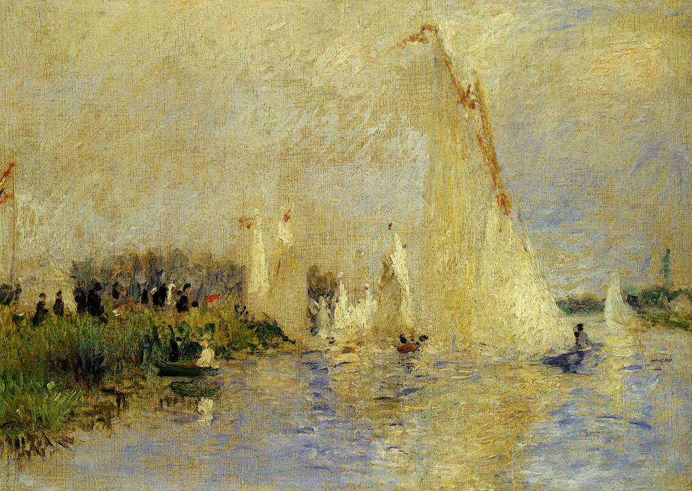 Pierre-Auguste Renoir - Regatta at Argenteuil