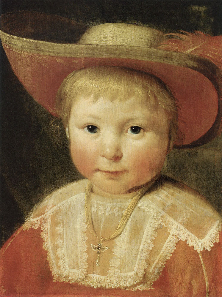 Pieter Soutman? - Portrait of a child