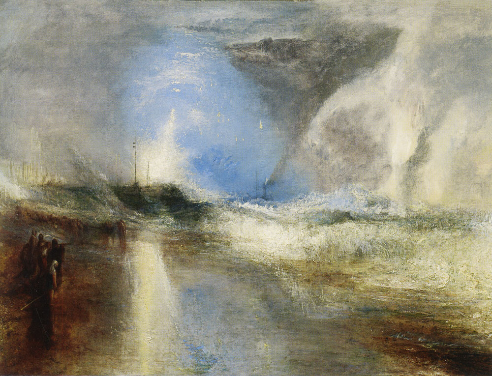 J.M.W. Turner - Rockets and Blue Lights to Warn Steamboats of Shoal Water